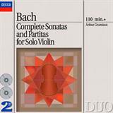 Complete Sonatas and Partitas for Solo Violin CD 1