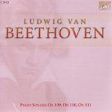 Piano Sonatas Op109 Op110 Op111