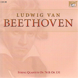 String Quartets Op74 y Op131